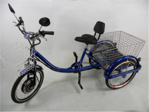 adult electric motorized tricycle trike