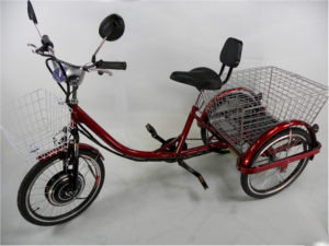 adult electric tricycle