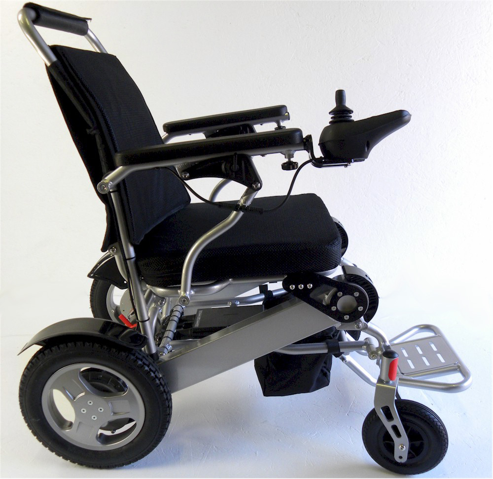 Scoot-Buddy Deluxe Electric Powered Foldable Mobility Wheelchair