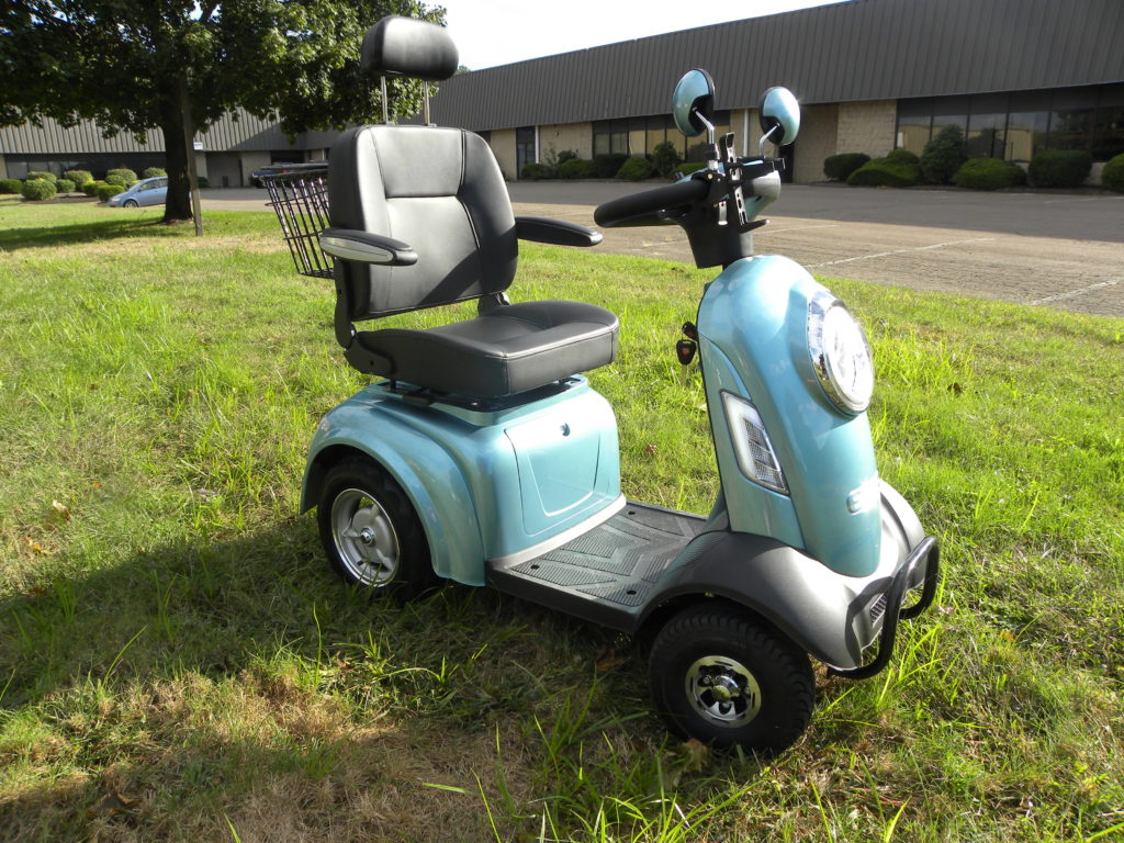 four wheels electric mobility scooter, mobile scooter